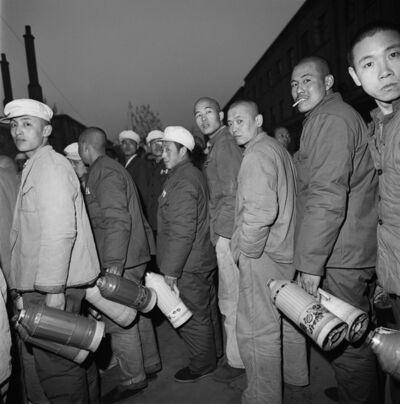 Liu Zheng, 'Convicts Fetching Water, Baoding, Hebei Province', 1995