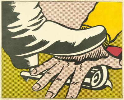 Roy Lichtenstein, 'Foot and Hand', 1964