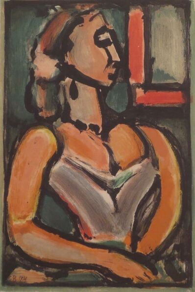 Georges Rouault, 'Femme fiere', 1938
