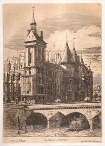 Charles Meryon, 'La Tour De L'horloge / The Clock Tower', 1852