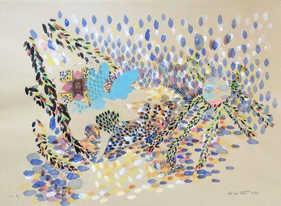 Ellen Van Fleet, 'As Easy As Kiss My Hand III', 2014
