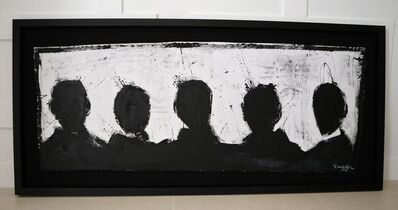Richard Hambleton, 'The Five Figures', 2014