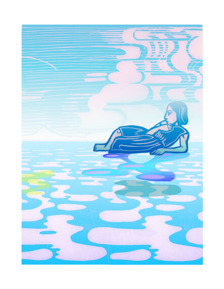 Libby Hague, 'ARRIVAL, Arctic Grace', 2020