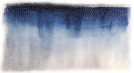 Katie Heffelfinger, 'Color Study in Cerulean Horizon (framed)', 2017