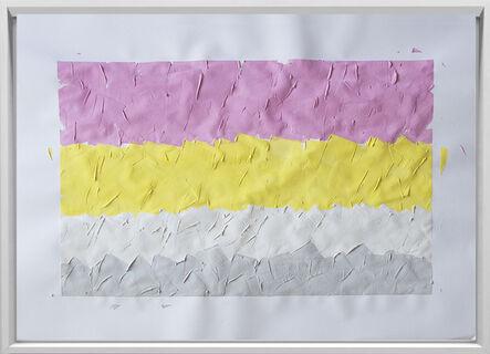 Rodrigo González Castellanos, 'Desgaste de la psicología del color, Pequeño', 2020