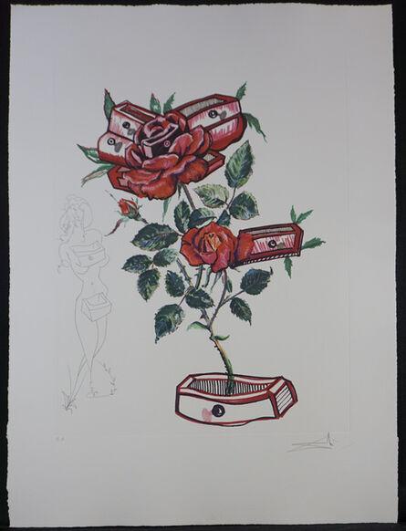 Salvador Dalí, 'Florals Rose', 1972