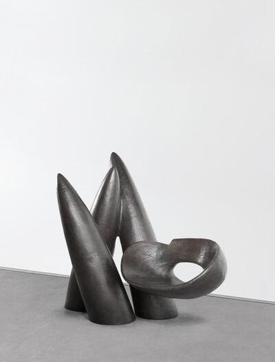 Wendell Castle, 'Veiled in a Dream, Bronze', 2014