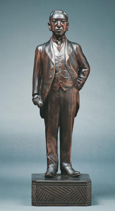 Huang Tu-Shui 黃土水, 'Statue of Yen Kuo-Nien', 1928-1929