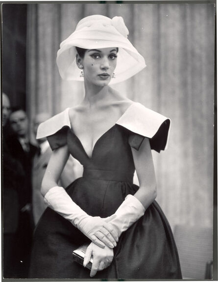 Nina Leen, 'Lady with White Hat and Gloves', 1959