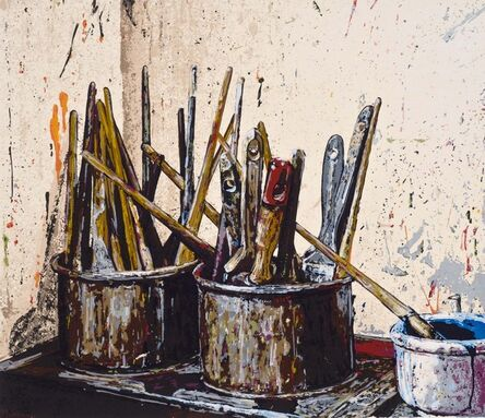 Joe Fig, 'Brushes (Bill Jensen)', 2008