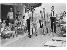 Terry O'Neill, 'Frank Sinatra in the Boardwalk', 1968