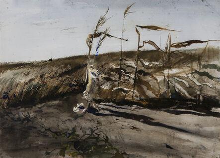 Andrew Wyeth, 'Late Corn', 1949