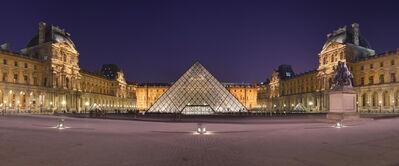 I.M. Pei, 'Louvre Pyramid', 1985-1993