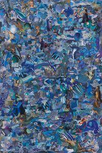 Vik Muniz, 'Repro (Monochromes): Blue', 2017