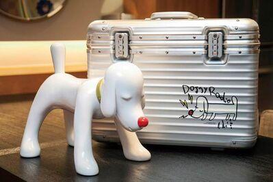 Yoshitomo Nara, 'Doggy Radio X Rimowa Suitcase', 2011