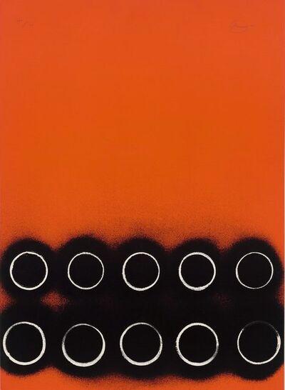 Otto Piene, 'Die Sonne kommt näher', 1970