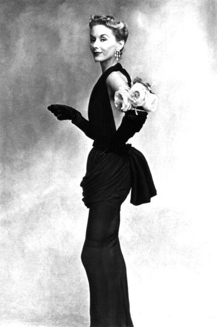 Irving Penn, 'Woman with Roses on her arm (Lisa Fonssagrives-Penn)', 1950