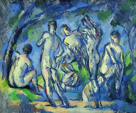 Paul Cézanne, 'Sept baigneurs (Seven Bathers)', ca. 1900