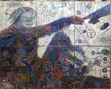 Moshe Tamir, 'Michel-Ange ', ca. 1993