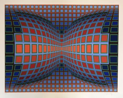 Victor Vasarely, 'Papillon', 1981