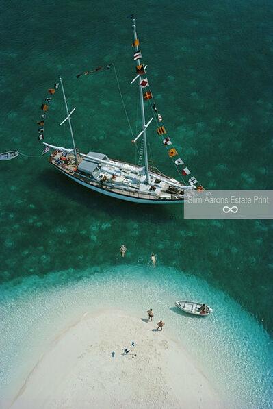 Slim Aarons, 'Exuma Holiday (Yachting in the Bahamas) Slim Aarons Estate Edition', 1964