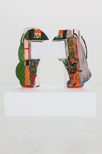Betty Woodman, 'Divided Vases: Window', 2012