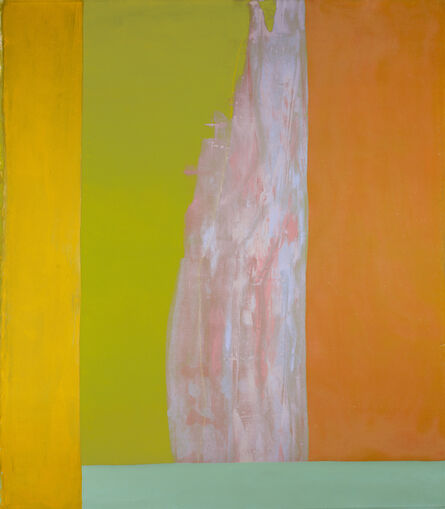 Dan Christensen, 'Blue Flame', 1971