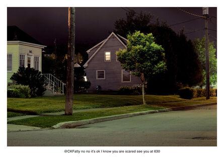 Nate Larson + Marni Shindelman, 'I Know You Are Scared', 2011