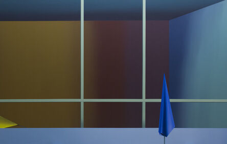 Linas Jusionis, 'Two almost empty spaces', 2021