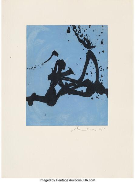 Robert Motherwell, 'Gesture III', 1976-77