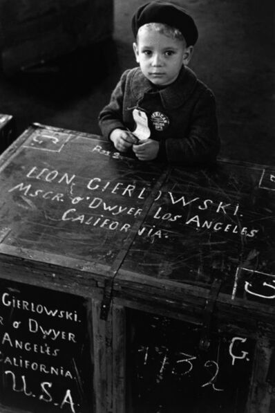 Dennis Stock, 'A new face for the new world. New York City, USA. ', 1951