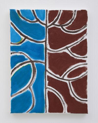 Benjamin Butler, 'Blue Tree Burgundy', ca. 2019