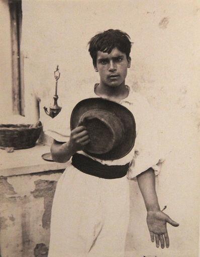 Wilhelm Von Gloeden, 'Taormina Sicilia', ca. 1898
