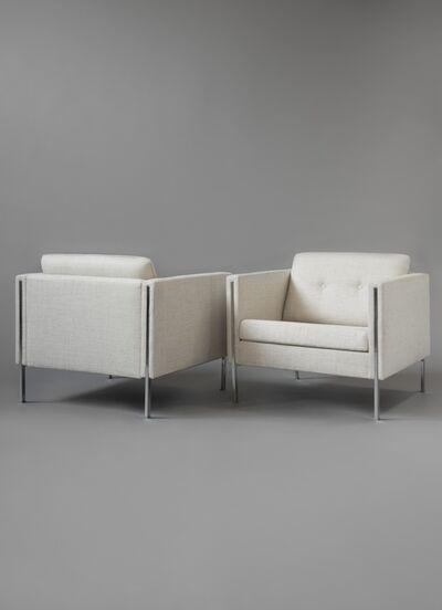 Pierre Paulin (1927-2009), 'Pair of armchairs 442', 1960
