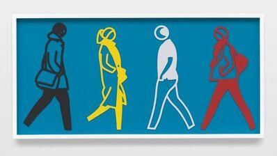 Julian Opie, 'Street 6', 2020