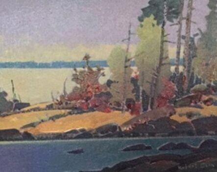 Robert Genn, 'Point Crow Island - Lake of the Woods', 2002