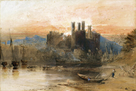 J. M. W. Turner, 'Caernarvon Castle, North Wales', 1836