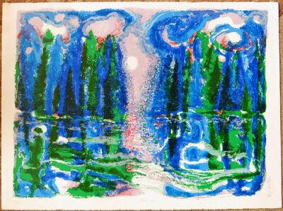 Ronald Julius Christensen, 'Moon Mist', ca. 1980