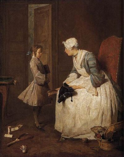 Jean-Siméon Chardin, 'The Governess', 1739