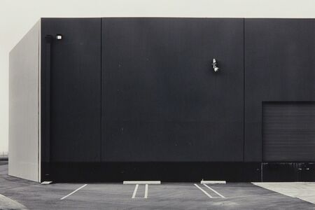 Lewis Baltz, 'Southwest Wall, Vollrath, 2424 McGaw, Irvine from The New Industrial Parks near Irvine, California', 1974
