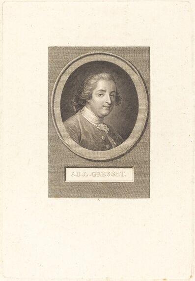 Augustin de Saint-Aubin, 'Jean-Baptiste-Louis Gresset', 1803