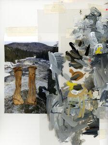 Andrea Pinheiro, 'Study for decomposing structures, Whitman Dam', 2017
