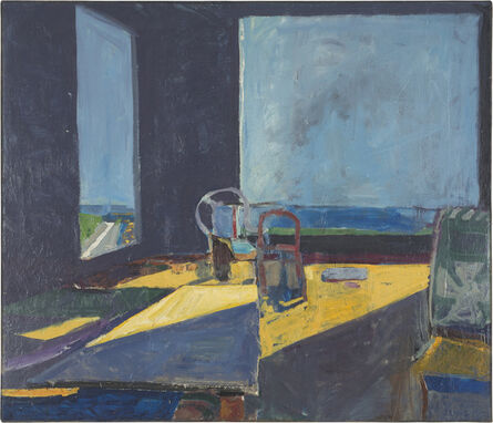 Richard Diebenkorn, 'Interior with View of the Ocean', 1957