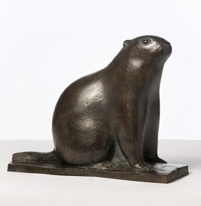 Marcel Derny, 'Groundhog', 1955