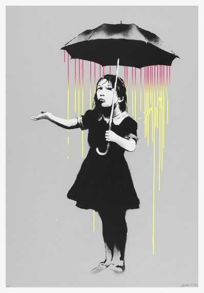 Banksy, 'NOLA (Pink to Yellow Rain)', 2008