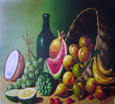 Philippe Claude, 'Still Life of Fruits', 1990