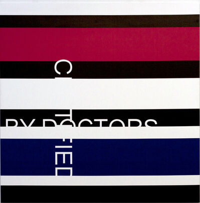 Véronique Savard, 'Certified by doctors', 2012