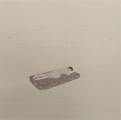 Catalina Jaramillo, 'Calcule el tiempo, durmiendo, para ir de un punto a otro.', 2014