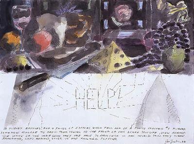Joe Zucker, 'UNTITLED (16 FILBERT BRISTLES)', 1996
