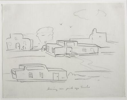 William Wegman, 'Living in Pick-Up Trucks', 1973